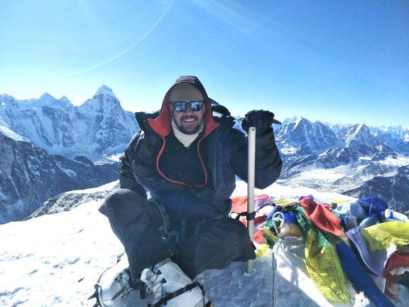 Best season to climb Island peak